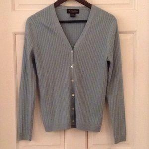 Brooks Brothers Silk & Cashmere cardigan